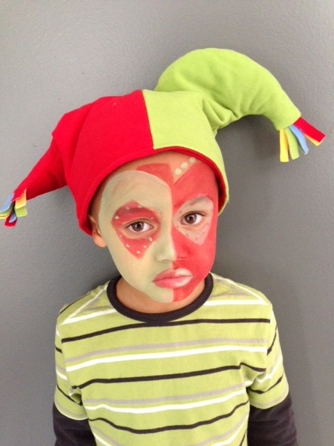 Maquillage enfant - Maquillage chapelier fou ...